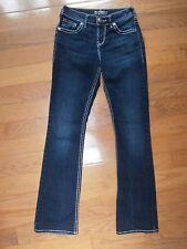 Womens Silver Jeans Natsuki Boot cut (Label size 25/33L  Low rise Blue