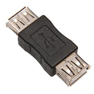 1X Standard USB 2.0 Type A Femelle à Extension Adaptateur Coupleur Con FR
