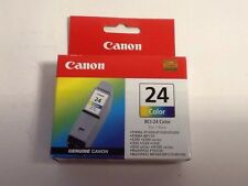 CANON BCI-24C Tri-Color/Color Ink Cartridge NEW SEALED