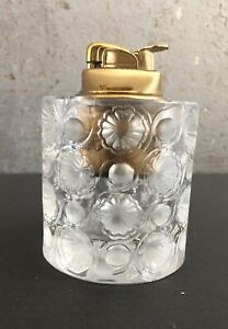 Vintage Lalique Cigarette Table Lighter / Collectible