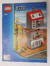 MANUALE ISTRUZIONI LEGO 7633 CITY SHOP - ONLY MANUAL