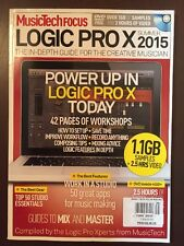 Music Tech Focus Logic Pro X Workshops Best Gear Guide Sum 2015 FREE SHIPPING