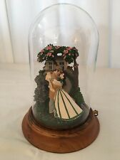 """Vintage 1991 GONE WITH THE WIND """"Romance of Tara"""" Musical Figurine Under Dome"""