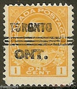 Canada Precancel stamp - Toronto 8-105d, UNLISTED!