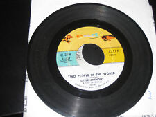Little Anthony & The Imperials; Tears on My Pillow 45