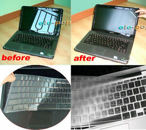 Keyboard Skin + 15.6'' Anti-glare Screen Protector Cover for HP Envy m6 dv6 15