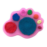 1pc  Flowers Shape Fondant Cake Silicone Mold Biscuits Pastry Mo.ÁÍ
