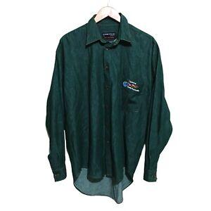 Telstra Rally Australia Racing Vintage 90s Button Shirt Mens Medium
