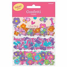SWEET ROSA FARFALLA GIRL'S 1st festa di compleanno confetti Sprinkles Triple Pack