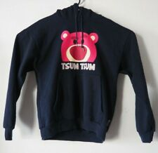CHOCOOLATE X Disney TSUM TSUM Toy Story 3 Lotso Navy Blue Hoodie Sweater XXS