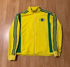Adidas Brazil FIFA World Cup 2006 Track Jacket Size Men's Large