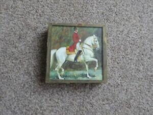 Vintage European match box holder
