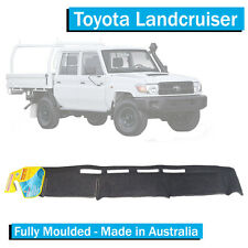 TO FIT: Toyota Landcruiser 79 Series (2009+) - Dash Mat - Charcoal - All Models