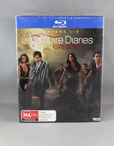THE VAMPIRE DIARIES : SEASONS 1-6 (BLU-RAY, 2015, 24-DISC BOX SET)  BRAND NEW