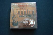 ULTIMATE COUNTRY RARE AUSTRALIAN 6 x CD SET IN WALLET! DON GIBSON JOHNNY HORTON