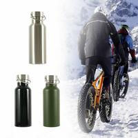 Double bouteille tasse d'eau potable isolée par vide 500ml en acier inoxydable G