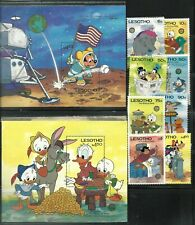 Lesotho (Disney) 1985,(Sc.- Mnh 502-511), Cv.- $28.80, Start 1/3, Look!