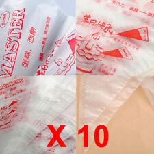 Decorazione Sacca SAC A POCHE Plastica Crema Dolci Torte Cake Design 10 pezzi hb