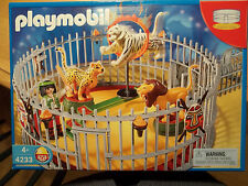 Playmobil # 4233,ANIMAL TRAINER,CIRCUS,RETIRED SET,CASE FRESH!