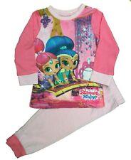 Girls Nickoldeon Shimmer and Shine Long Pyjamas Pjs Sleepwear Age 1.5 to 5 Yrs