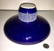 Rare Unusual Insulator Large Cobalt Blue Collector Alert!