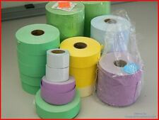 Monarch Label Rolls 120778 - Green, Blue, Purple, Yellow