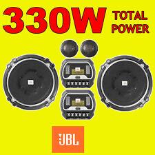 JBL 2-WAY 5.25 in (environ 13.34 cm) 13 cm voiture composant 2WAY tweeters haut-parleurs 330 W Puissance Totale