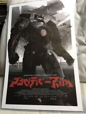 Mondo Alamo Drafthouse Pacific Rim Movie Print Poster 11x17