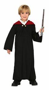 Boys Magic Student Trainee Wizard Harry Fancy Dress Costume Book Day