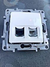 Legrand Niloe 664772 RJ11+RJ 45 Telephone+Data Socket CAT.5 UTP White
