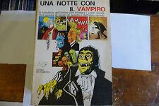 """UNA NOTTE CON IL VAMPIRO-fumetto EDIFUMETTO 1' ed.1973"""" A2"""