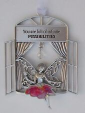 aa You are full of infinite possibilities Garden Fairy Window Ornament ganz