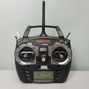 Tactic SLT 2.4GHz TTX650 Radio Control Transmitter, NO RECEIVER, CONTROLLER ONLY