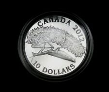 2012 $10 Fine Silver Canadians Geographic Praying Mantis