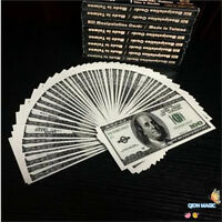 New Fanning Bills (US Dollar) - Magic Tricks,Stage Magic,Comedy,Party Trick
