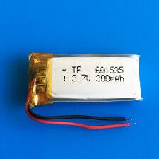 3.7 V batteria Li Po 300 mAh per mp3 mp4 Smart Watch GPS per cuffie Bluetooth 601535