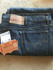Made in USA Levi's Men's 501 Shrink to Fit Jeans Blue Size Big and Tall 58x32