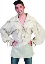 Camicia steampunk storica pirata pittore dandy vampiro misura unica adulto
