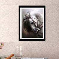 EG_ Horse Crafts 5D Diamond Embroidery Painting Art DIY Room Wall Decoration Uni