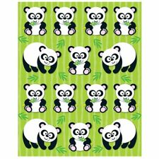 Pandas Shape Stickers Carson Dellosa CD-168021
