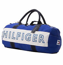 Tommy Hilfiger Men Women Large Travel Sport Gym Logo Duffle Bag - $0 Free Ship