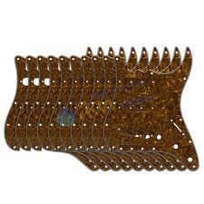 10 pièces perle d' OR 4PLY guitare SSS Plaque de protection 11holes pour