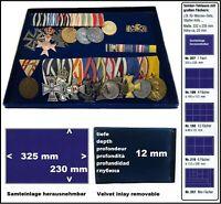 Look 1-207 Münztableaus 325x230x12 mm Für Schützen Orden Militaria Abzeichen