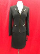 "TAHARI BY ARTHUR LEVINE SKIRT SUIT/BLACK/SIZE 18/NEW WITH TAG/LINED/SKIRT24""/"