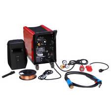 Matrix Schutzgas Schweißgerät Mig-Mag 200 incl Zubehör + 5kg Schweißdraht