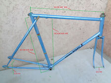 SABLIERE A  & BUSSET ?? handmade brazing frame high size 61cm cadre fait main