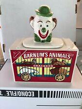 Scarce Vintage Nabisco Barnum's Animal Cookie Cracker Jar 1972 Mccoy