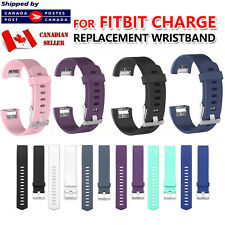 For Fitbit Charge 4 / 3 Band Replacement Silicone Strap Soft Bands Small Large