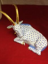 Herend Antelope New Blue 15457 Hungary