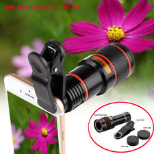 12X Telescope Zoom Camera Lens Mark Hd clip-on 70° view for Samsung iPhone New